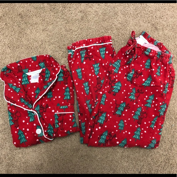 65473ebc19 Flannel Christmas Pajamas XS. M 5b711295e9ec89602c33d1b3